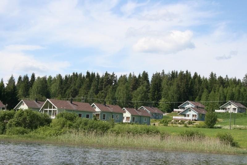 Озера и реки центральной Финляндии. Рыбацкая деревня Химос.